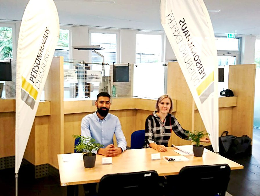 Personalhaus Duisburg bei der Jobmesse