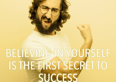 THE FIRST SECRET TO SUCCESS IS YOU!